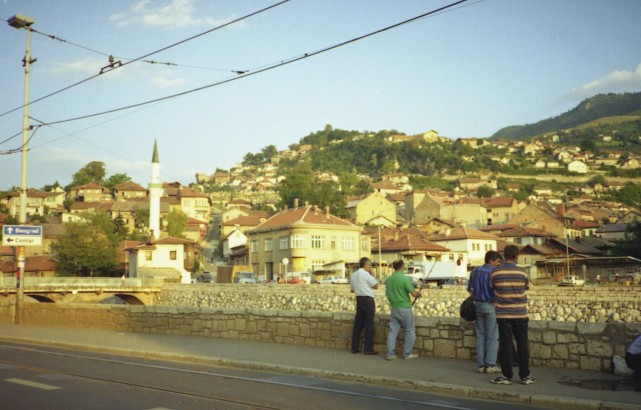 By 1996 life began to return to normal after wartime siege from hills above
