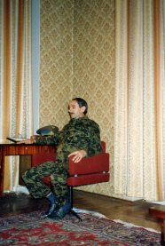 Djokar Dudayev in his Grozny office in early November 1991
