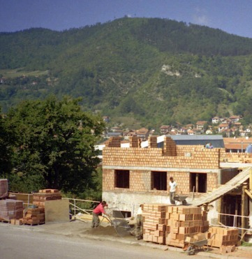 By 1996 reconstruction work was underway in many parts of Bosnia