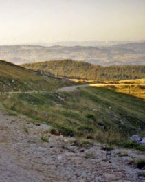 A walk in the hills above Pale in Bosnia's Republika Srpska