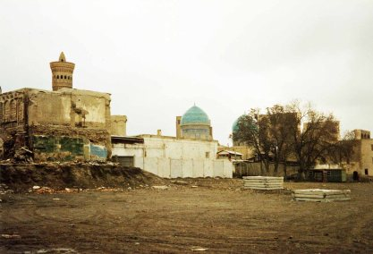 So we wandered through Bukhara not always knowing the names of sites