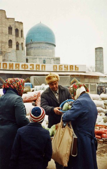 I believe this was the Samarkand market