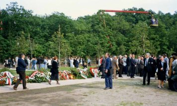 Nagy was rehabilitated and reburied on 16 June 1989