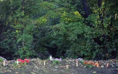 For the atrocities that occurred at this ravine on the outskirts of Kyiv