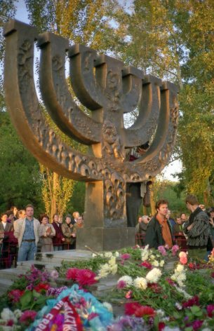 More than 200,000 people, mostly Jewish, were killed at Babyn Yar in 1941