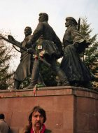 And listened to opposition speeches made near statues of 1848 heroes