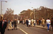 They also came out for events like the March 15th celebration in 1989