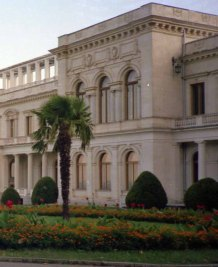 The 1945 Yalta Conference was held at the Livadia Palace in Yalta
