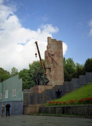 City council was trying to figure out how to get rid of the Lenin statue