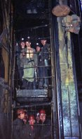 With shafts in some mines as deep as 1200 metres