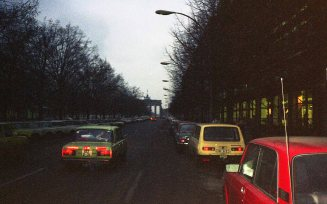 I arrived in East Berlin on the evening of Saturday November 11, 1989