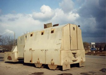 Some TD armoured vehicles looked like this