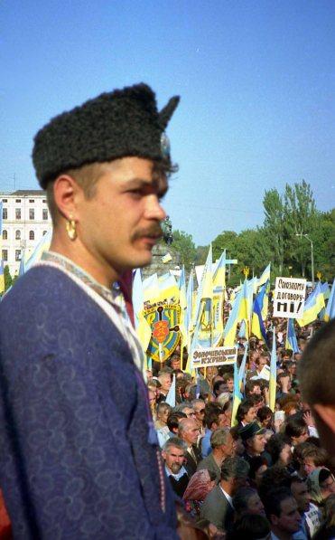 Ukrainian friends often likened Cossacks to freedom fighters