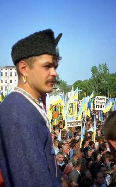 Ukrainian friends often likened Cossacks to freedom fighters