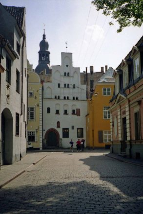 Riga is known for its art nouveau architecture