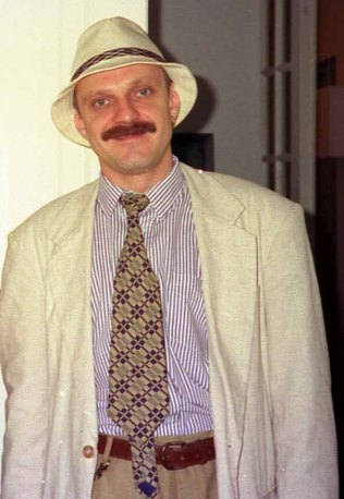 Mykola Veresen, a prominent Ukrainian journalist and BBC colleague