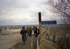 Dniester River in March 1992 in what TD forces called Moldova