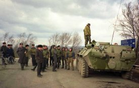 These were Moldovan forces stationed on the other side of the