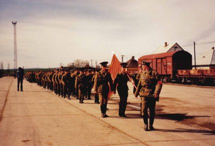 East Germans noted reforms in Hungary including the troop withdrawal