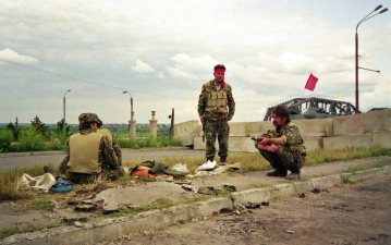 The TransDniestrian (TD) National Guard seen here in Bendery, June 1992