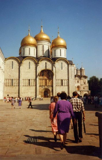 The Assumption Cathedral was built by a fifteenth century Italian architect