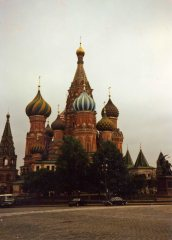 St. Basil's in Red Square was built during the reign of Ivan the Terrible