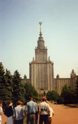 Include the main building of Moscow State University