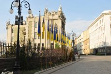 House of Chimeras (Horodetskyi House) Kyiv April 2014